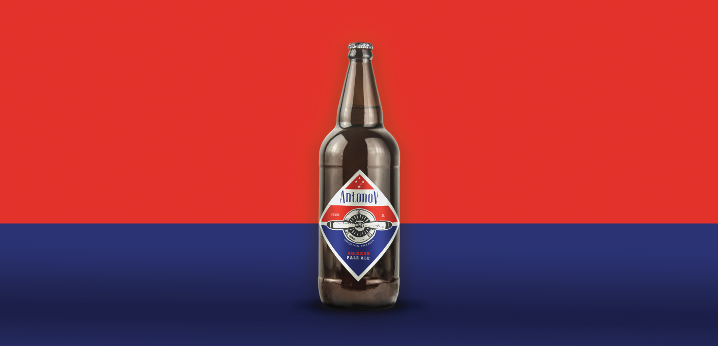 Desenvolvimento Embalagem Cerveja Antonov - An2