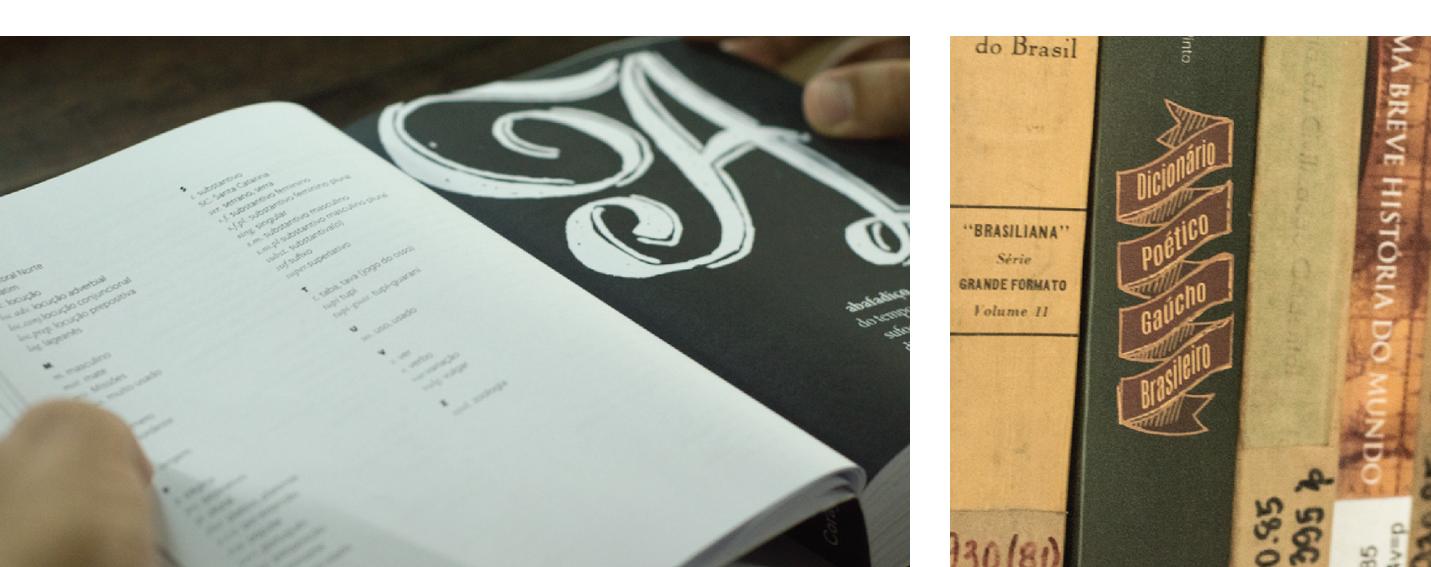 Design Editorial Design Gráfico Dicionário Poético Gaúcho Brasileiro - José Atanásio Borges Pinto