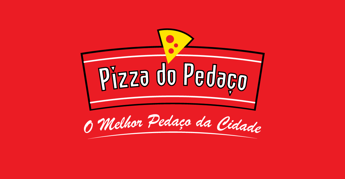 Identidade Visual Pizza do Pedaço - Pizza do Pedaço