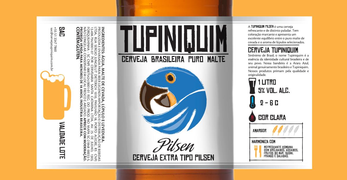 Design Identidade Visual Cerveja Tupiniquim - Cerveja Tupiniquim