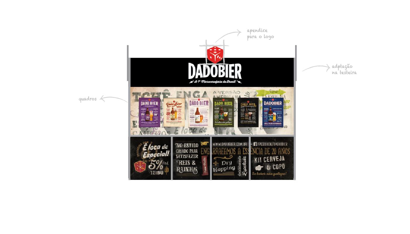Stand para Cervejaria - Dado Bier