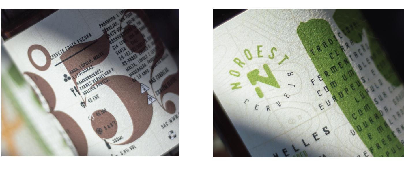 Design de Embalagem Cerveja Noroest - Cervejas Noroest