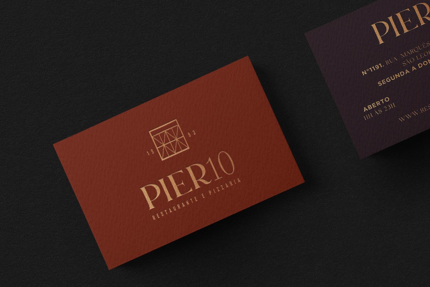 Identidade Visual Pier10 - Pier10