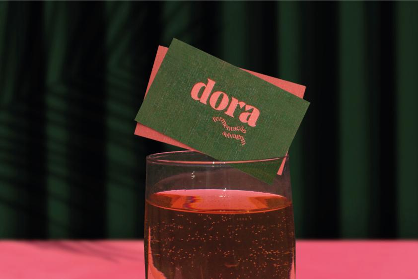 Identidade Visual Dora Padaria de Fermentação Selvagem - Dora Padaria Fermentação Selvagem